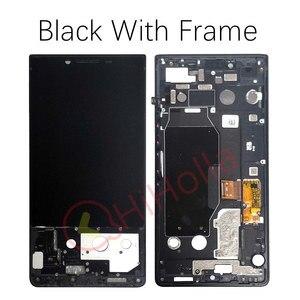 Image 2 - لبلاك بيري مفتاح 2 شاشة الكريستال السائل محول الأرقام بشاشة تعمل بلمس لبلاك بيري Key2 LCD Keyone 2 KeyTwo الشاشة مع استبدال الإطار