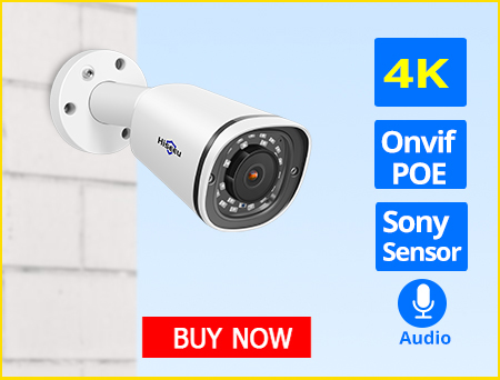 Hb6bab7caf32445f6b45bd88d6e1e2f37m Hiseeu H.265 Audio Security IP Camera POE 4MP ONVIF Outdoor Waterproof IP66 CCTV Camera P2P Video Surveillance Home for POE NVR
