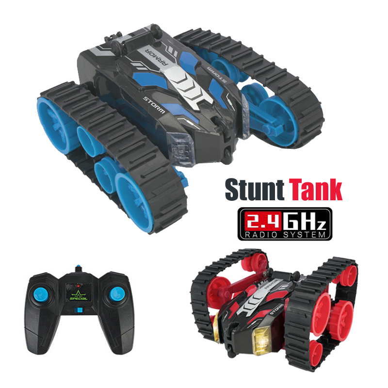 Rc Car Machine With Remote Control Tank Stunt High Speed 3D Flip Drift Toys For Boys Buggy Battery Operated Radio Control Car