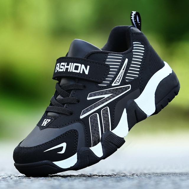 Children Sneakers Shoes Leather Anti-slippery  1