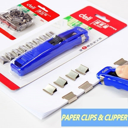Creative Reusable Paper Clips Metal Binder Clips Office Paper Organizer For Documents With Paper Clipper