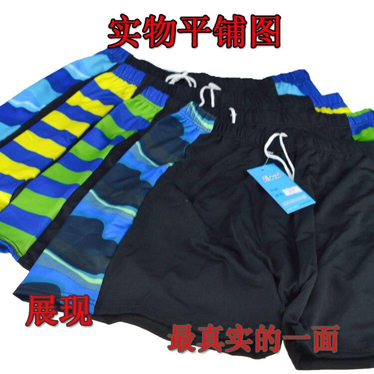 Factory Price Men Boxer Fat Old Swimming Trunks Plus-sized Swimming Trunks Men's Swimming Trunks 3204 Te Fei Swimming Trunks Bat