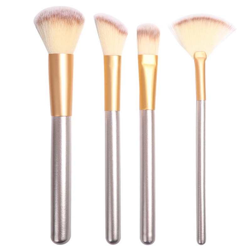 Mixdair 12Pcs Set Makeup Brush Face Foundation Concealer Brush Portable Soft Synthetic Professional Eyeshadow Brush Set with Bag in Eye Shadow Applicator from Beauty Health