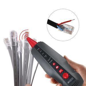 Image 5 - NF 8601S Multi functional Network Cable Tester LCD Cable Length Meter Breakpoint Tester RJ45 Telephone Line Checker
