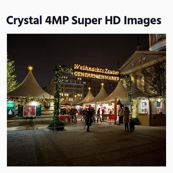 ANNKE 4MP Ace Full Color Night Vision POE IP Camera H.265+ Video Surveillance Camera 100FT Warm Light Security Camera CCTV Cam 2