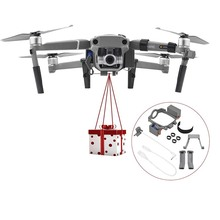 airdrop Parabolic Servo Switch device Remote control control + Landing gear For DJI mavic pro 1 drone Accessories
