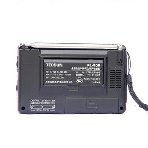 Image 2 - Tecsun PL 606 Digital PLL Portable Elderly/Studendt Radio FM Stereo / LW / SW / MW DSP Receiver Lightweight Rechargeable