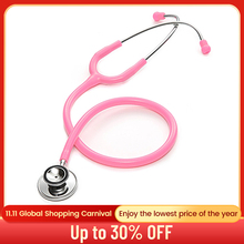 Double Head Cardiology Stethoscope Doctor Professional Dual Head Stethoscope Nurse Vet Medical Equipment Medical Student Device