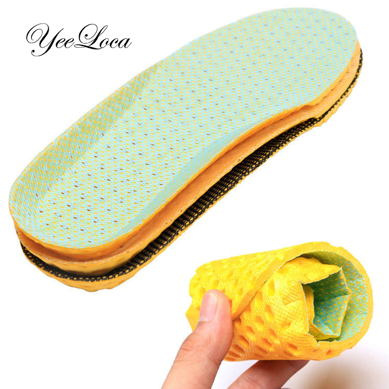 Full Length Inserts With Arch Support Shoe Insoles Men Women Running Cushion Insoles For Feet Sole Orthopedic Pad Memory Foam