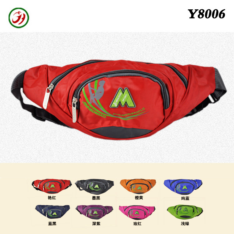 [Factory Price] Outdoor Bag Multi-Purpose Travel Bag Casual Men's Women's Wallet Trend Of Fashion Chest Pack Y8006