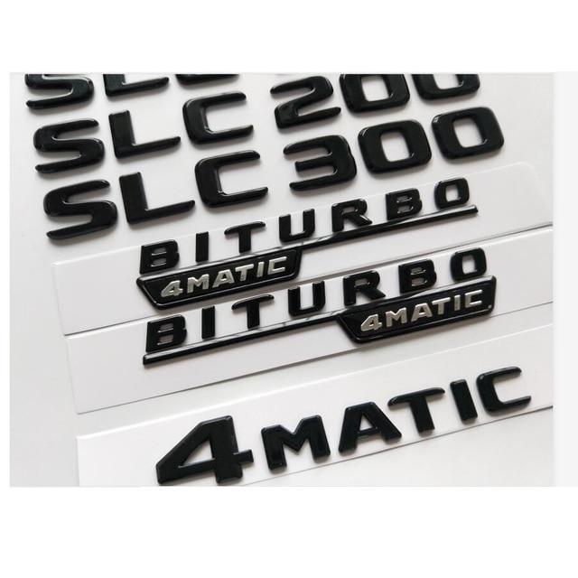 Фото блестящие черные значки с буквами эмблема для mercedes benz цена