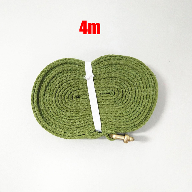 4m Yoga Toning Band Gear Belt Fitness Cotton Stretching Sweat absorption 3
