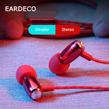 EARDECO Stereo In-ear Phone Earphone Headphones Wired Control Bass Sound Earbuds Headset for Phone Xiaomi Huawei 3.5mm Earphones sound intone e6 wired earphone stereo music earphones sports running ipx4 earbuds 3 5 mm plug earpiecs for xiaomi mobile phone