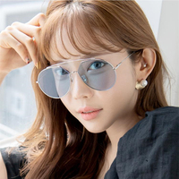 Korean BRAND DESIGN High Quality Sunglasses Women Men Outdoor Traveling Fishing Sun Glasses Female Male Fashion Mirror Sunglass