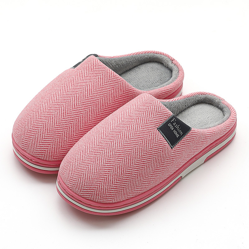 Women Slippers Winter Warm House Shoes Soft Home Slippers Non slip Plush Cotton Shoes Men Lovers Bedroom Ladies Cute Fur Slides|Slippers| - AliExpress