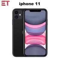 Apple iphone 11  telefone celular  nova marca  a2223  dual sim  4gb ram  64/128/256gb rom 6.1