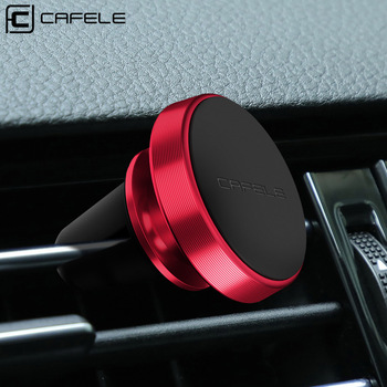 CAFELE Magnetic Car Phone Holder For Phone in Car 360 Rotation Universal Air Vent Mount Car Holder Stand For Xiaomi iPhone X image