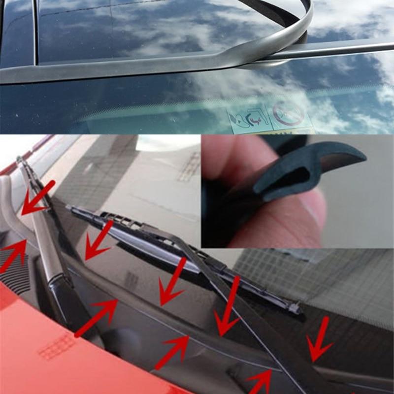 >Rubber Under Front Windshield Panel sealing <font><b>strip</b></font> <font><b>For</b></font> <font><b>Ford</b></font> Mondeo Focus 2 3 1 mk2 mk3 Fiesta MG Chevrolet Lacetti Cruze Captiva