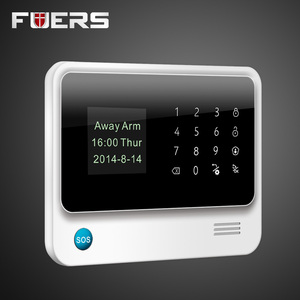 Image 5 - G90B Plus Wireless WiFi GSM GPRS SMS Home Security Alarm System LCD ISO Android App Control Flash siren