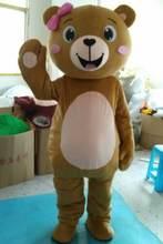 Костюм талисмана коричневого медведя карнавальные меховые костюмы