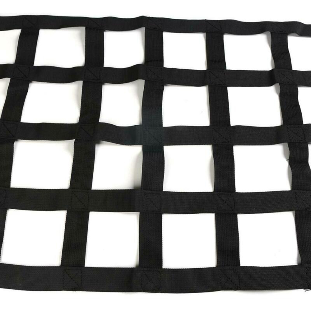 Auto Accessories for Black Car Roof Hammock Net Cargo Bag For Jeep Wrangler TJ JK JL Storage Luggage