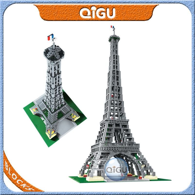 10181 3478Pcs Paris Eiffel Tower Model Building Kits Blocks Bricks Compatible With Lepining Birthday Gift Toys For Children