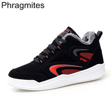Phragmites 2019 Autumn Winter Warm Outdoor Non-slip Casual Men Shoes Comfortable Flats Sneakers Walking Sports Shoe