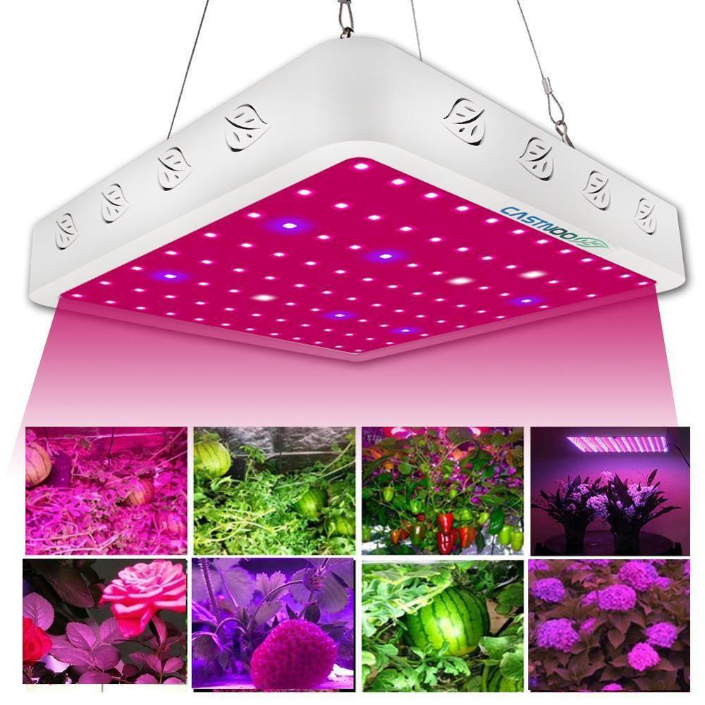 LED Grow Light Panel Lamp Hydroponic Plant Growing Full Spectrum Indoor Plant Grow Lamp Hydro Growing Light Panel(China)