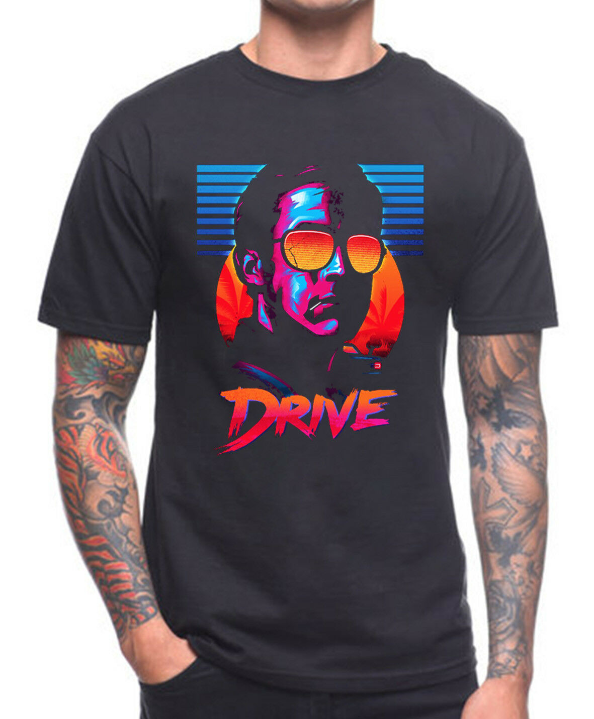 DRIVE T SHIRT CULT MOVIE image
