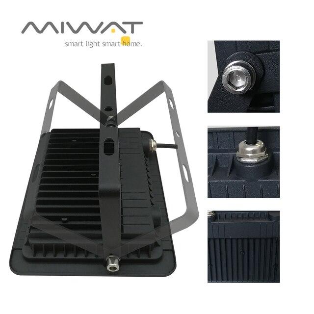 Ultra-thin10W 20W 30W 50W 100W LED projektör spot Led arama lambası 110 V/220 V projektörler bahçe sokak kare