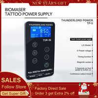 Tattoo Netzteil HP-2 UPGRADE Touchscreen TP-5 Intelligente Digitale LCD Make-Up Tattoo Maschine Liefert set