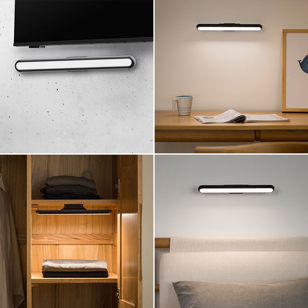 Luz de leitura usb lâmpada de mesa