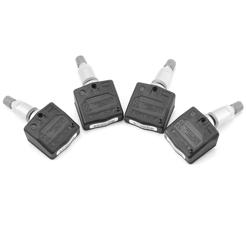 4PCS Tire Pressure Sensors for Nissan Titan 40700-1AA0D 407001AA0D Tire Pressure Monitoring System TPMS Sensor