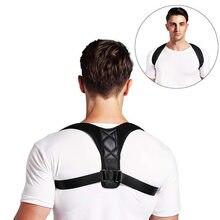 Correcteur de Posture du dos, ceinture de soutien, ajustable, clavicule, colonne vertébrale, épaules, lombaires