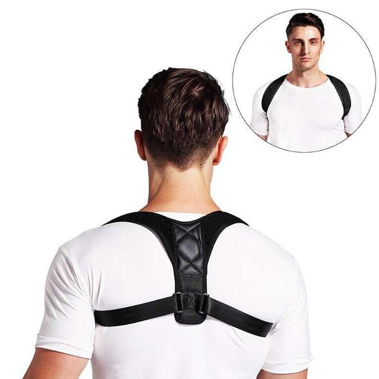 Volta postura corrector cinto cinta suporte cinto ajustável clavícula coluna volta ombro postura lombar correção