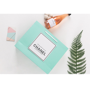 Image 5 - 30pcs Small Gift Bag With Handles Craft package Paper Gift Box For Jewelry Birthday Decoration Event Party Supply 3 colors