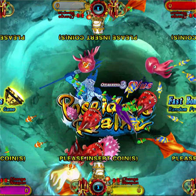 Best Seller IGS Fish Game Machine Ocean King 3 Plus Poseidon's Realm Arcade Machine Coin Operated Games 3