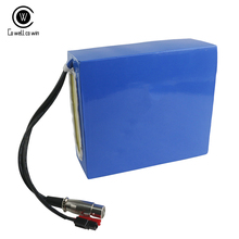 Waterproof PVC 48V 17.5AH Ebike E scooter Battery Pack 48V Lithium ion Batteries Packs  for 1000w 48v motor стоимость