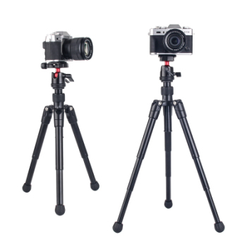 Desktop mini tripod portable for canon phone self-timer live tripod camera photography SLR DV Tabletop ball head