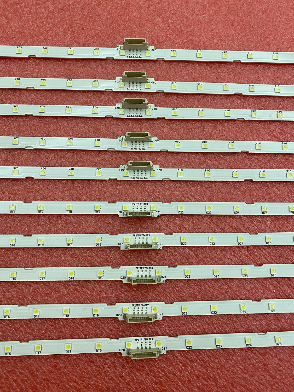 10pcs/lot LED Backlight strip for Samsung 55NU7100 UE55NU7300 UE55NU7100 UN55NU7100 AOT_55_NU7300_NU7100 BN96-45913A BN61-15485A