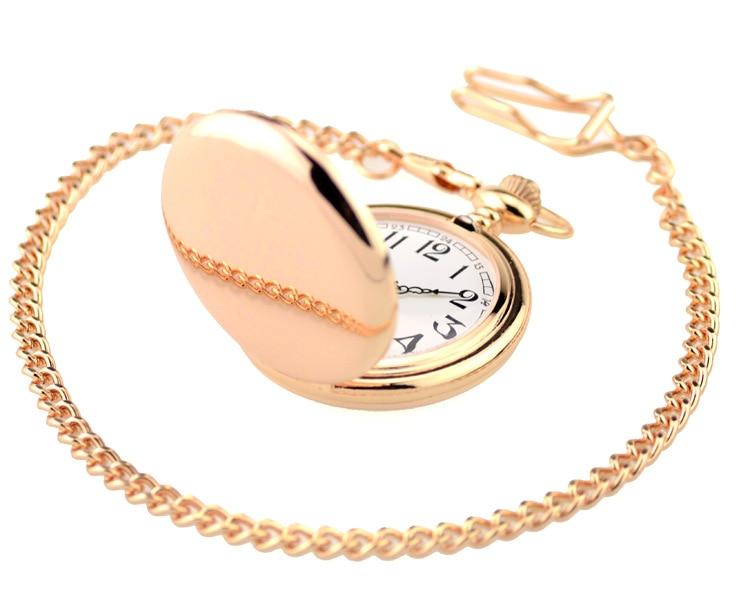Fashion-Black-Polish-Smooth-Quartz-Pocket-Watch-37cm-Chain-Pendant-Fob-watch-Men-Women-Gifts-Fob