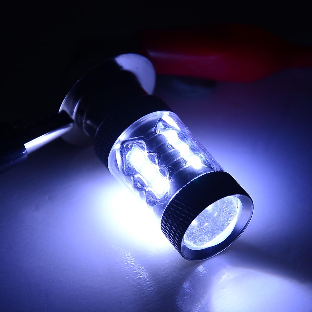 1 шт. H6M P15D 20SMD 80 Вт белый светодиодный фонарь для фар алюминиевый+ светодиодный бисер 6500 K-8500 K для мотоцикла ATV Yamaha