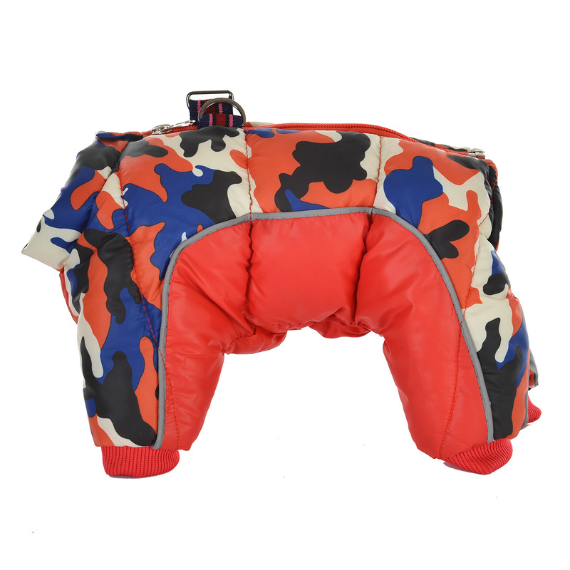 Reflective and Warm Dog Jacket and Waterproof Winter Dog Clothing with Strong Zipper and D-Ring 20