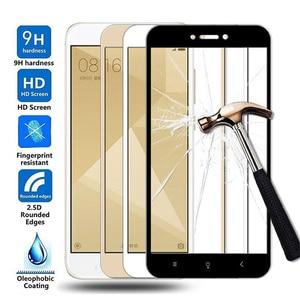 15D Protective Glass For Xiaomi Redmi 4X 5A 5 Plus 6 6A 7A Redmi Note 4 4X 5 5A Pro Tempered Glass Screen Protector Film Case