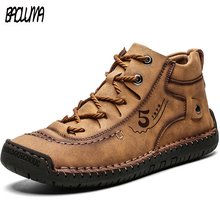 Warm Boots Walking-Shoes Designer-Style Sneakers Winter Men's VIP Flat Moccasins Handmade