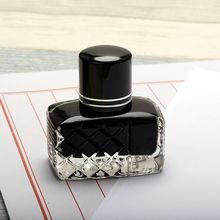 Smooth Writing Fountain Pen Quick Drying Ink Refill Glass Bottled School Student R66C