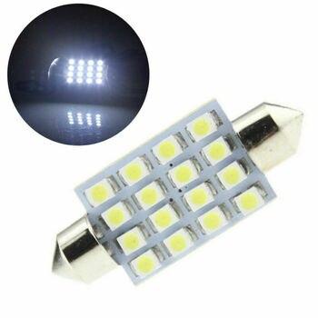 Bombilla LED mixta T10 5050 3SMD para coche de 14 Uds., Bombilla COB blanca de 31-39mm 12V, paquete Interior para coche de coche, mapas, domo, matrícula, accesorios variados