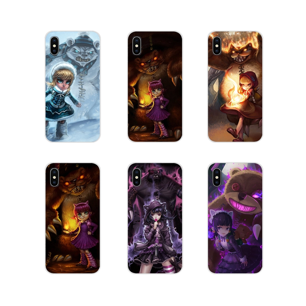 Lol The Dark Child <font><b>Annie</b></font> Accessories Phone Shell Covers For Huawei Nova 2 3 2i 3i Mate 7 8 9 10 20 <font><b>30</b></font> Lite Pro image