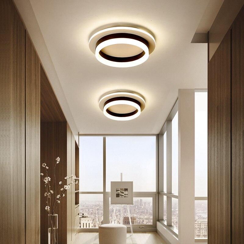 luzes de teto modernas para corredor varanda 04