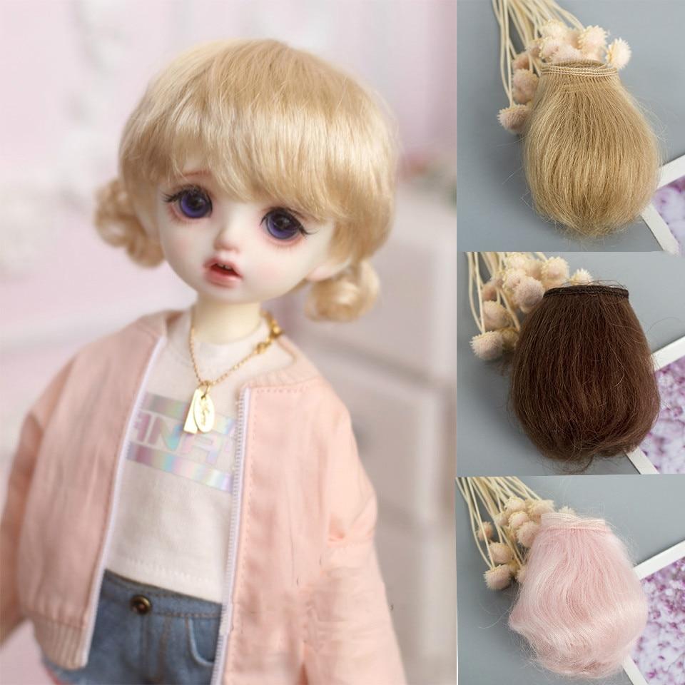 Cataleya New Bjd Mohair Wig Row 5cm Multi-color Optional Sd Doll Beauty Pig Ob11 DIY Handmade Material Wig